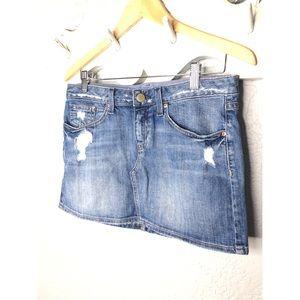 Gap Hayden Mini Denim Skirt 26/2